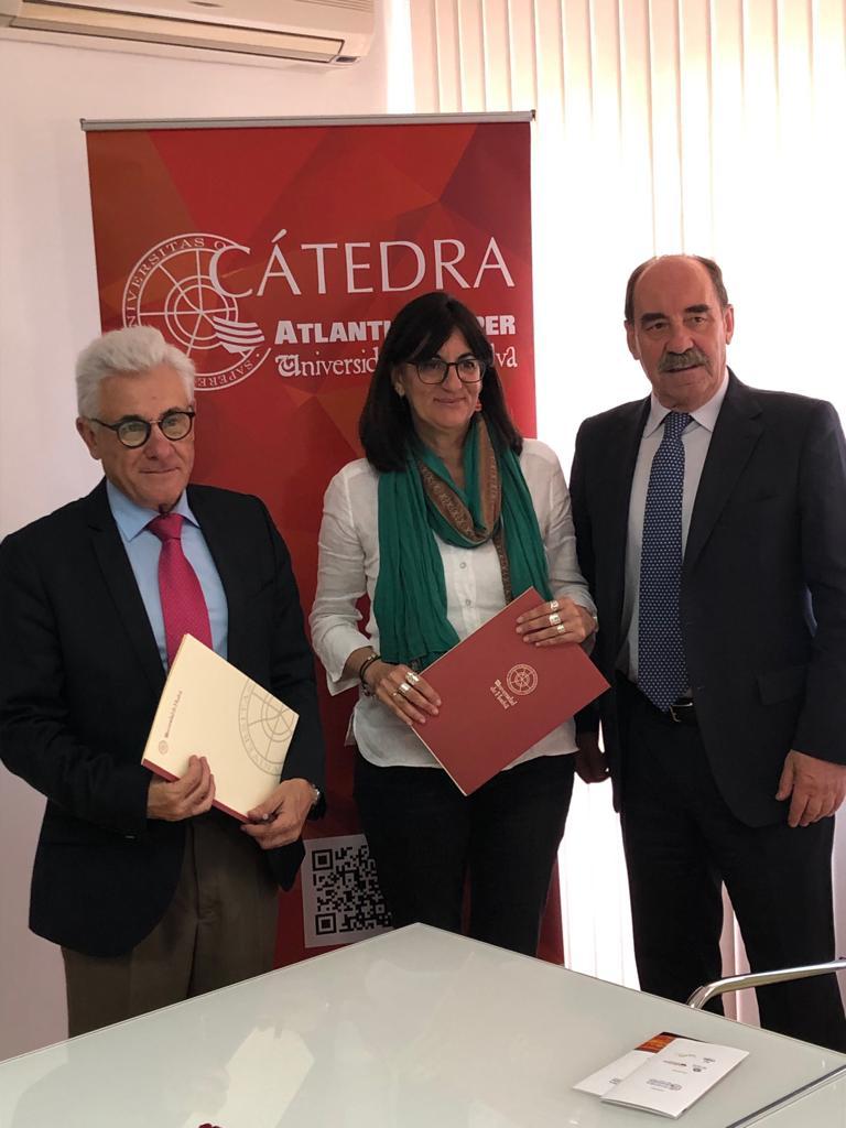 Atlantic Copper y la Universidad de Huelva refuerzan su apuesta por la I+D y la formación especializada con la renovación de su Cátedra Externa