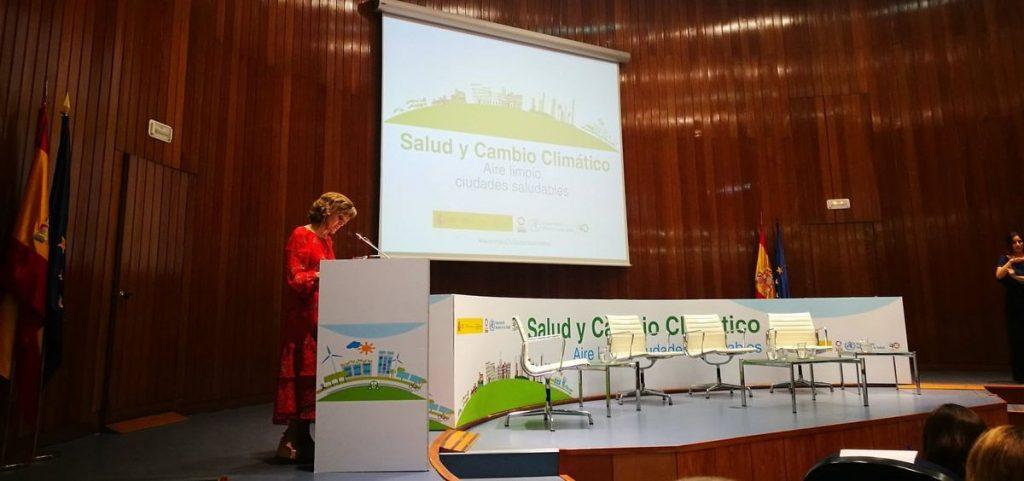 Carcedo avanza que España presentará un Plan Nacional de Salud y Medio Ambiente en la próxima Cumbre del Clima de la ONU
