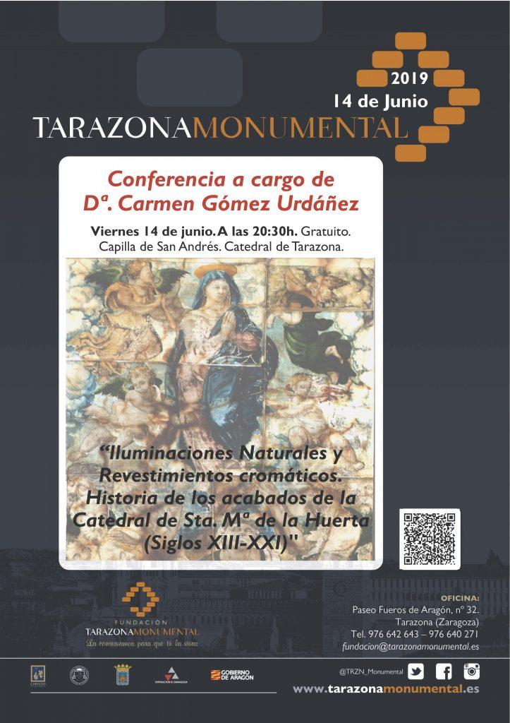 La Fundación Tarazona Monumental organiza la presentación de un nuevo libro sobre la Catedral