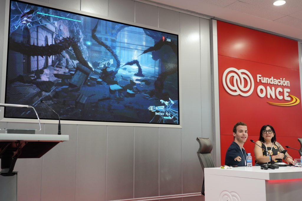 Fundación ONCE aborda la accesibilidad en los videojuegos con una demostración de la  XBOX Adaptive Controller