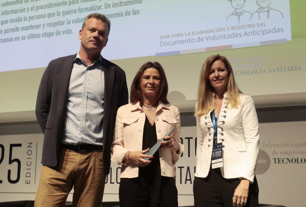 La Fundación Edad&Vida, galardonada en la  categoría 'Institución Sociosanitaria' de la VIII edición Premios Voluntades RSE