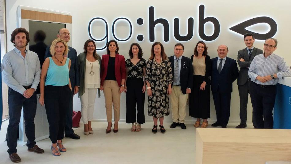 El Foro de Asesoramiento Patrimonial de la FEBF conoce las instalaciones de GoHub y GoAigua de Global Omnium
