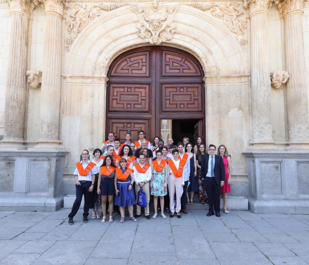 Jóvenes con discapacidad intelectual se gradúan por la Universidad de Alcalá en un curso de competencias para el empleo