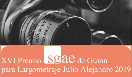 La Fundación SGAE convoca el XVI Premio SGAE de Guion para Largometraje 'Julio Alejandro' 2019