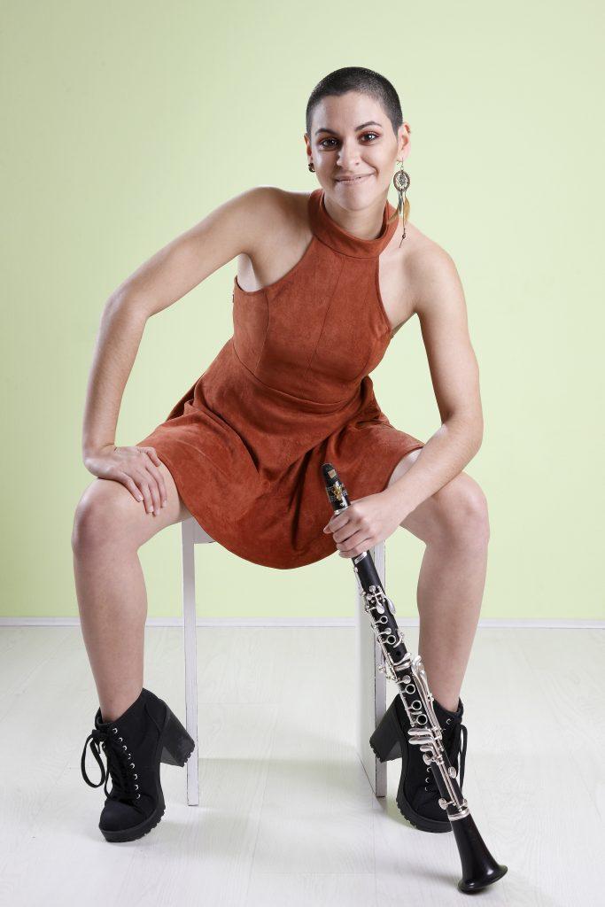 La clarinetista Alba María Fariña, ganadora de la I edición del premio «Mi primer concierto profesional»