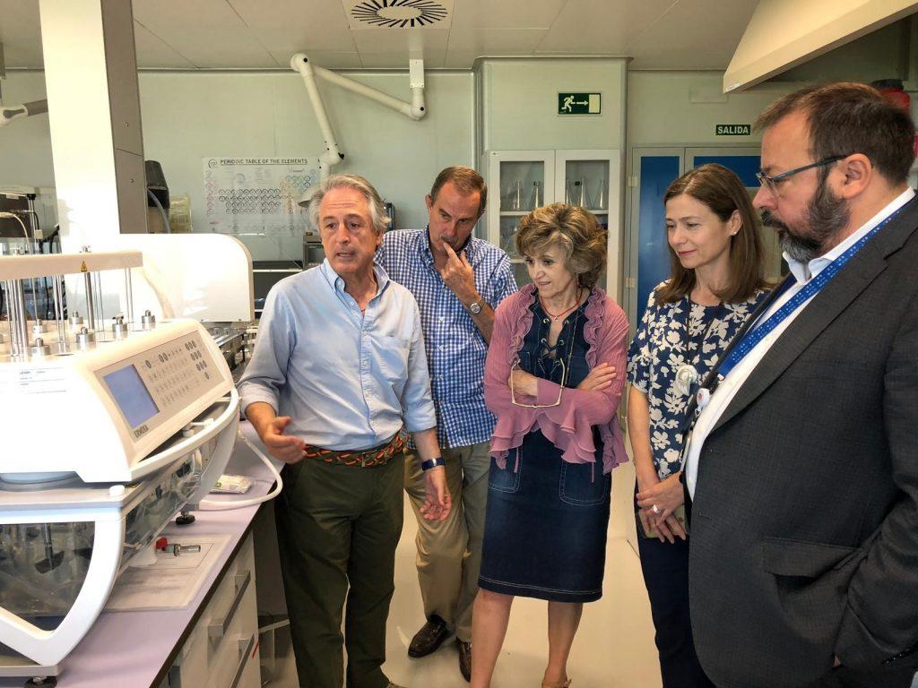 La ministra Carcedo visita la Agencia Española de Medicamentos y Productos Sanitarios