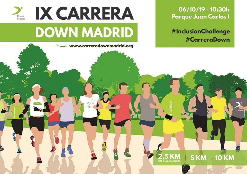 Down Madrid se prepara para una nueva  edición de su Carrera Solidaria