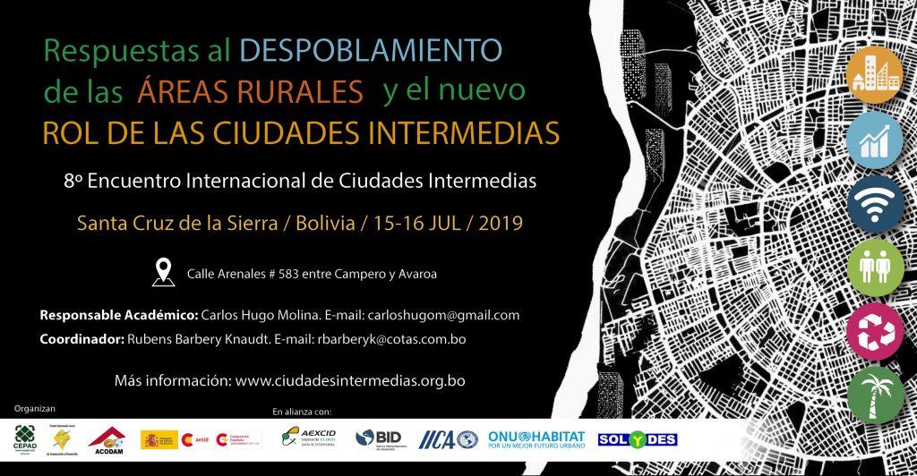La experiencia de la Fundación Santa María la Real, en un congreso sobre despoblación de áreas rurales en Bolivia