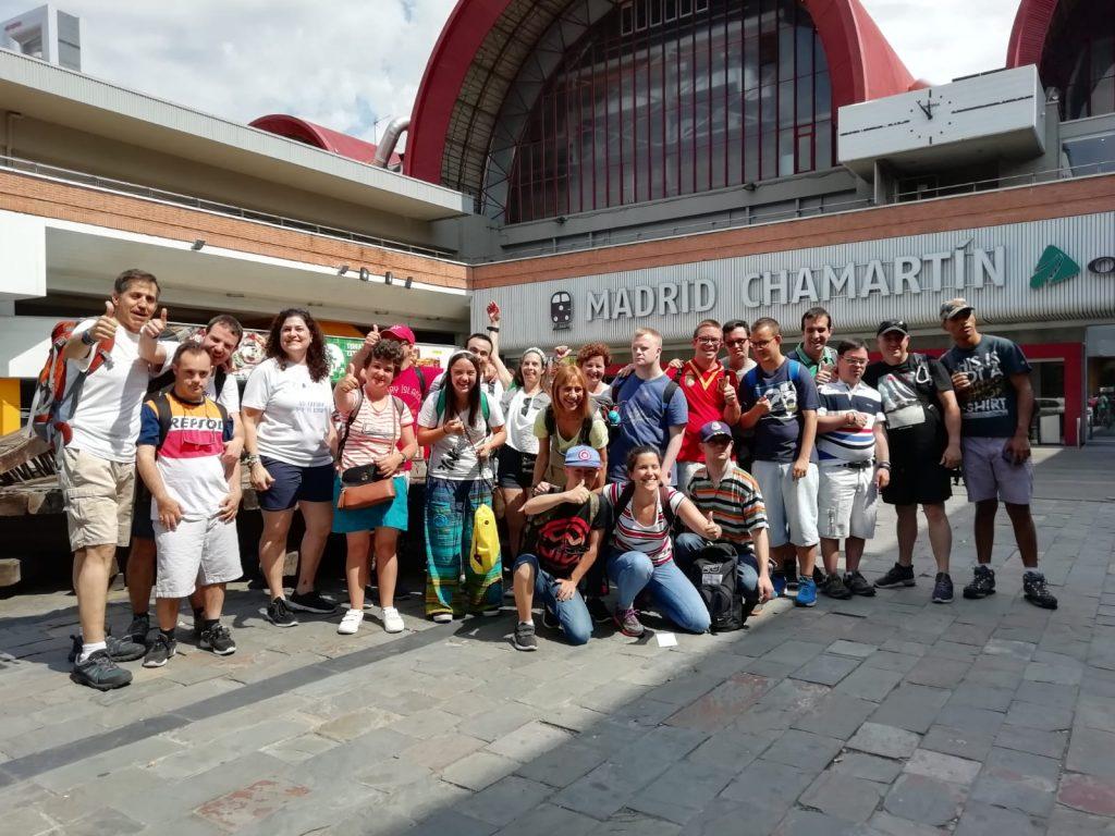 Jóvenes con discapacidad intelectual emprenden el Camino por la inclusión hacia Santiago de Compostela