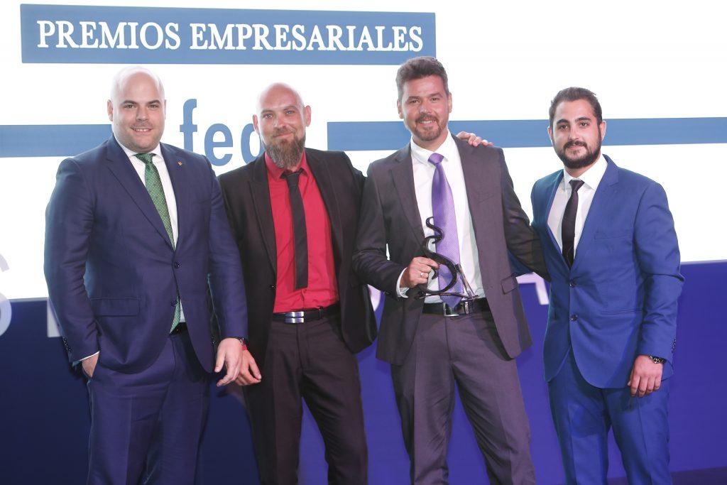 Eurocaja Rural entrega el 'Premio Joven Empresario' en la XX edición de los 'Premios Empresariales San Juan' de FEDA