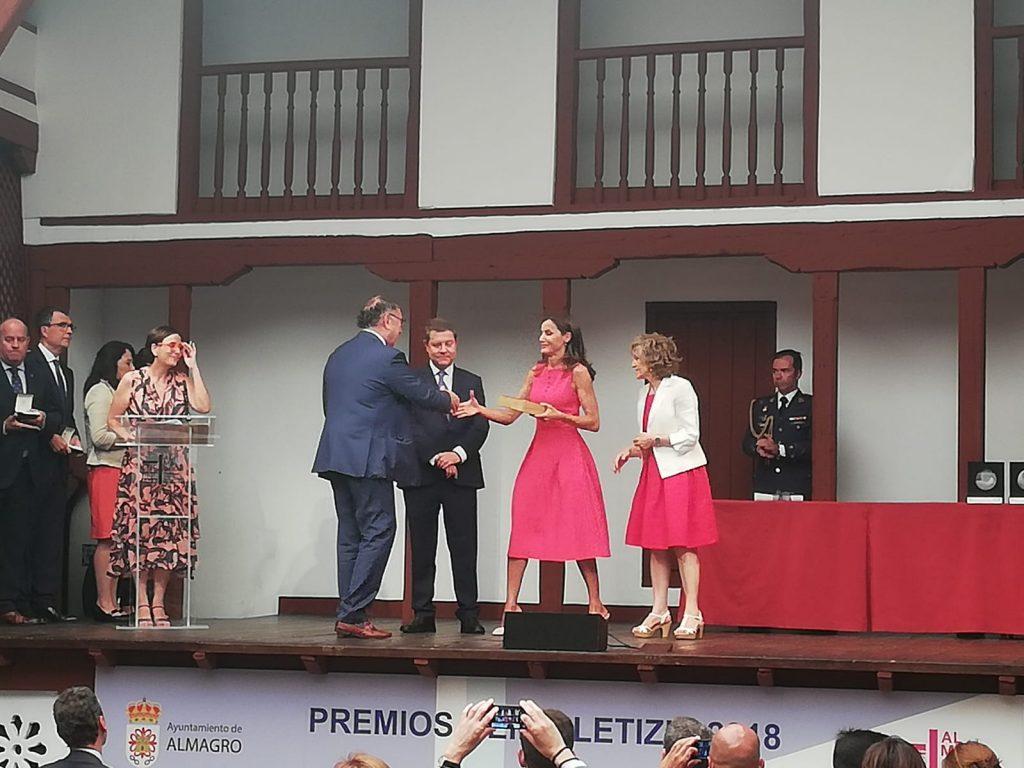Carrefour recibe el 'Premio Reina Letizia de Promoción de la Inserción Laboral de las Personas con Discapacidad'