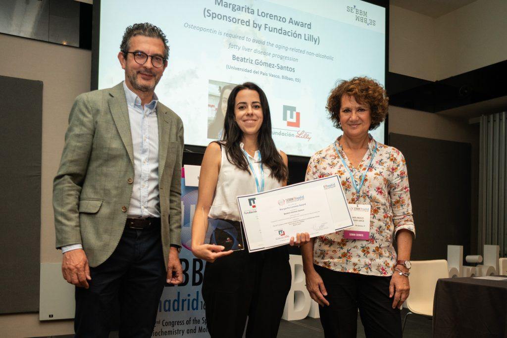 """Premio """"Margarita Lorenzo"""" para un estudio sobre el papel protector la osteopontina frente al desarrollo de enfermedad hepática grasa no alcohólica durante el envejecimiento"""