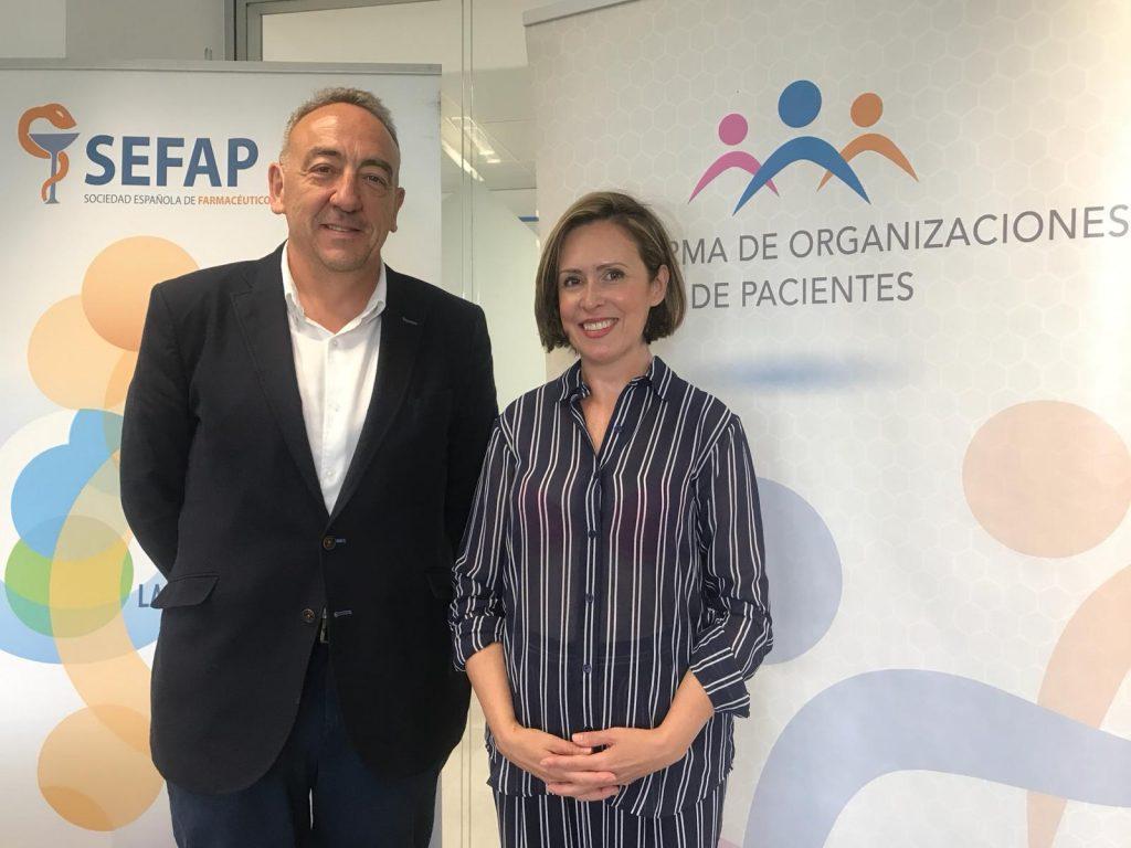 La POP y SEFAP se comprometen a fomentar la formación y el empoderamiento de los pacientes en el sistema