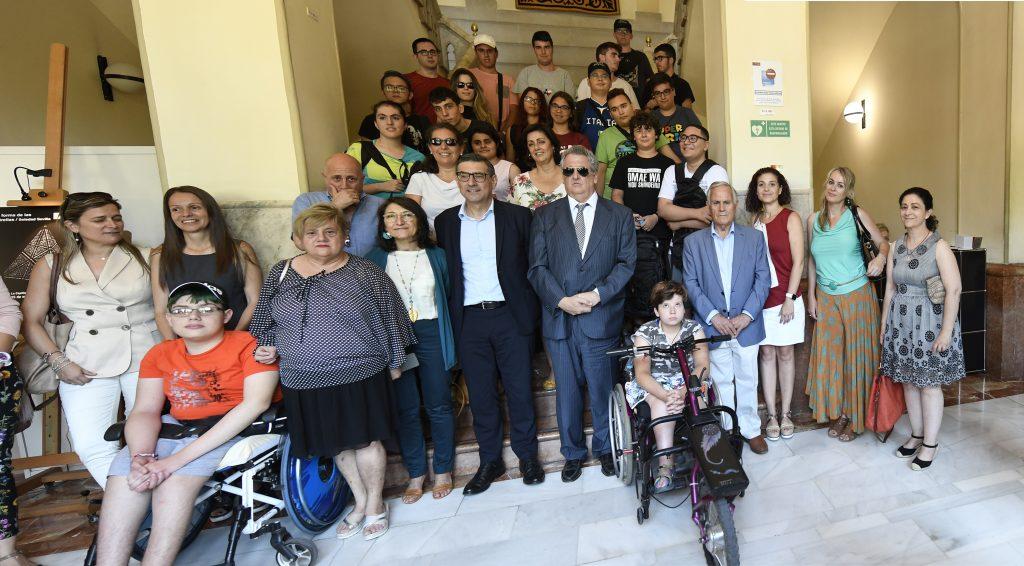 Jóvenes con discapacidad viven la experiencia universitaria en Murcia y Cartagena gracias a los 'Campus inclusivos' de Fundación ONCE, Fundación Repsol y Ministerio de Educación