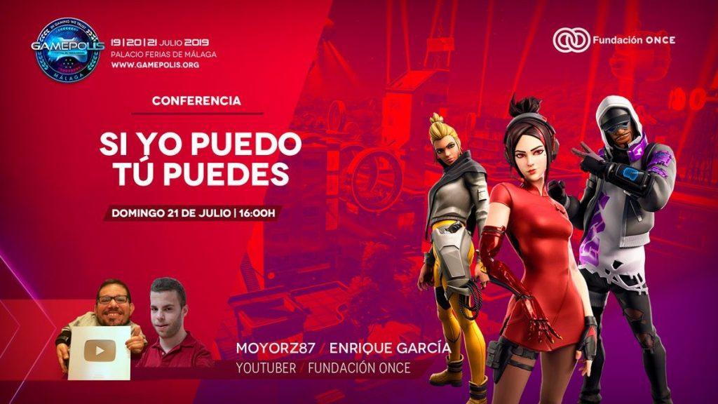 Fundación ONCE participa en 'Gamepolis 2019' para impulsar la accesibilidad en los videojuegos