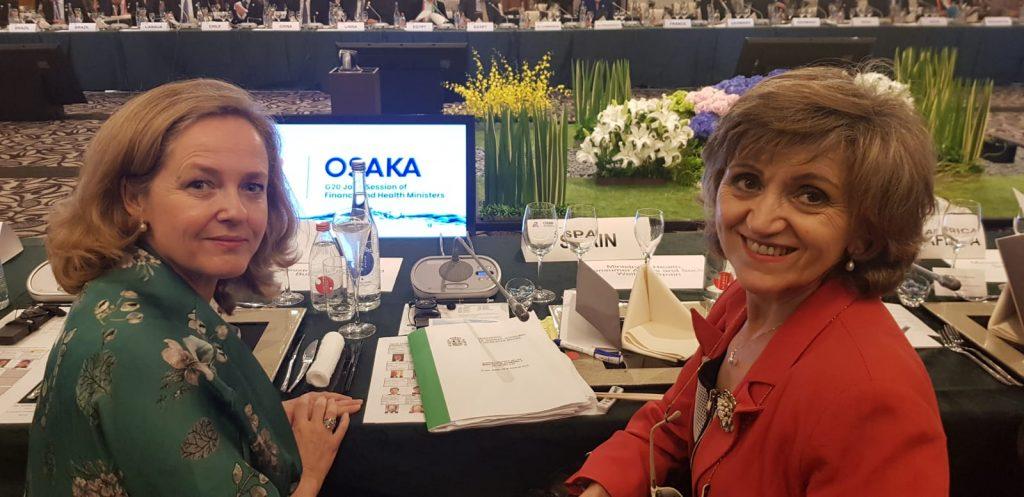 El Gobierno pone en valor la cobertura sanitaria universal de España en la cumbre  del G20
