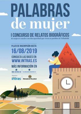 Convocado el I Concurso de relatos biográficos de mujeres con discapacidad que viven en pueblos de la provincia de Valladolid 'Palabras de mujer'