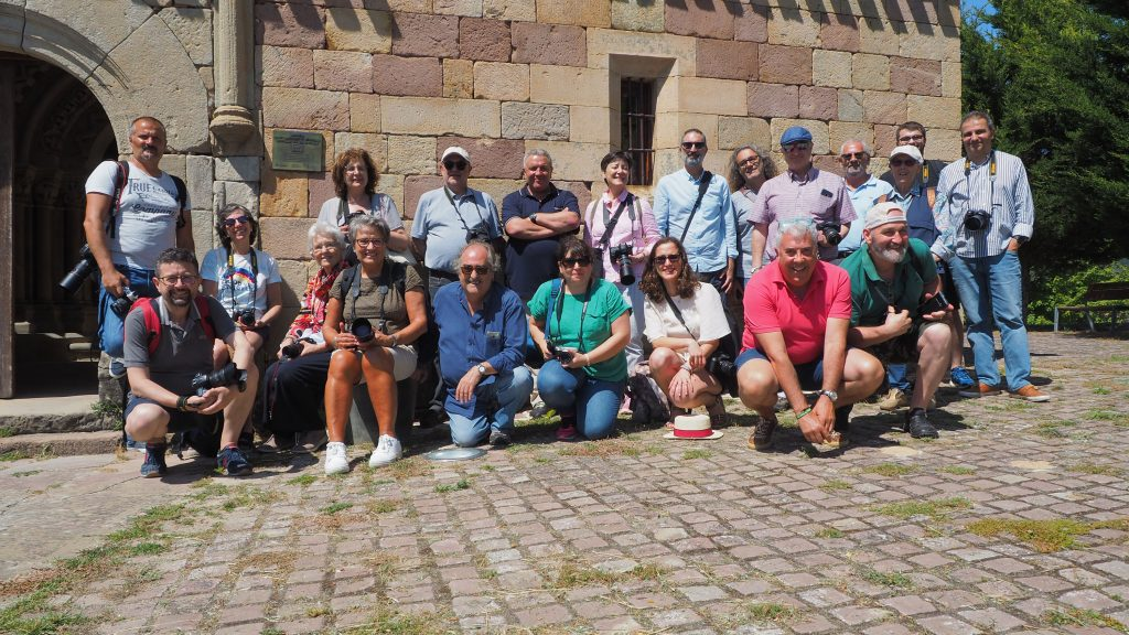80 personas viven el románico en los talleres de la Fundación Santa María la Real