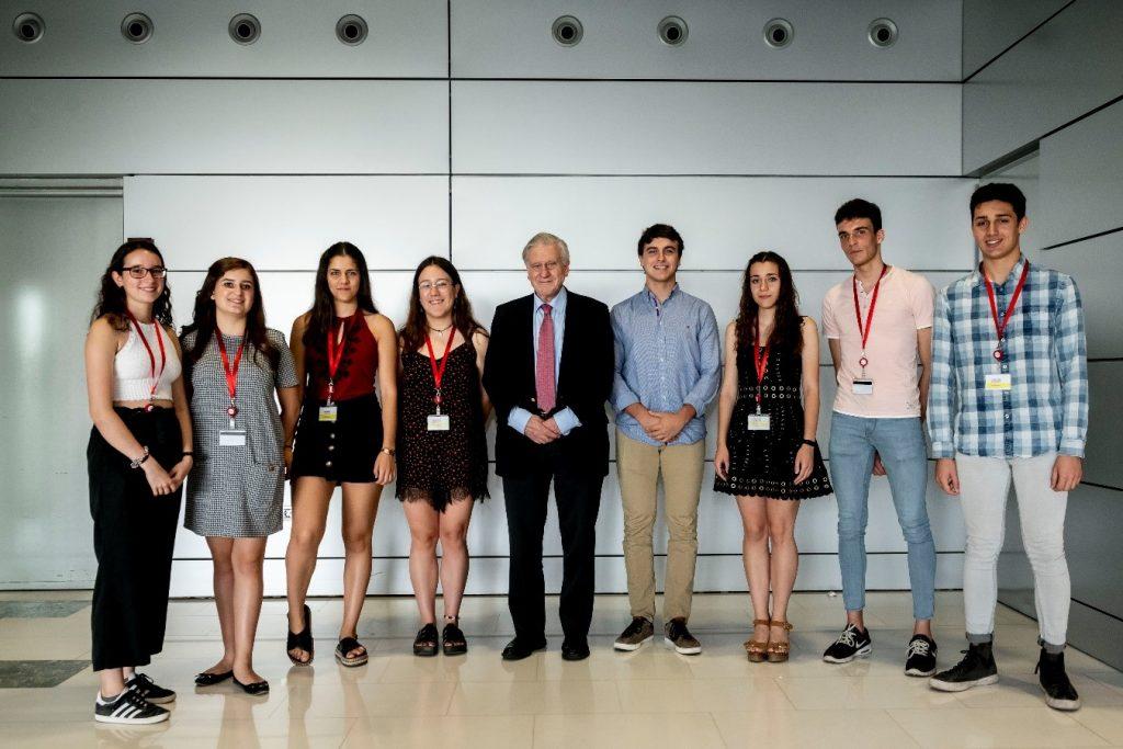 Los estudiantes de ciencias '10' se forman en el CNIC