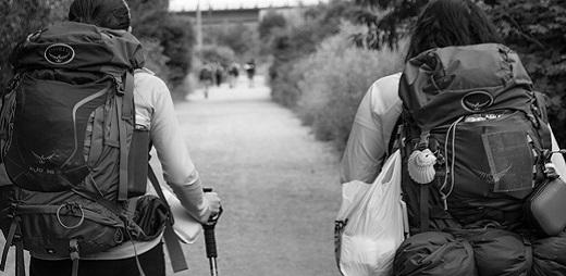Jóvenes con discapacidad intelectual se enfrentan a los últimos 113 km del Camino Francés