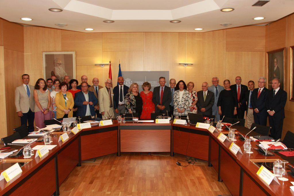 María Luisa Carcedo preside el Consejo de Protección de la Cruz Roja Española