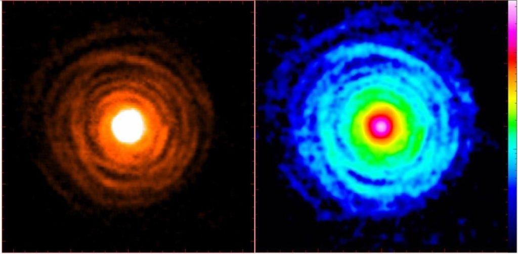 Hallada la primera molécula portadora de calcio en el espacio