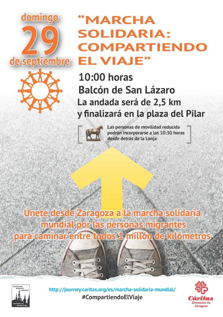 """Marcha solidaria """"Compartiendo el viaje"""""""
