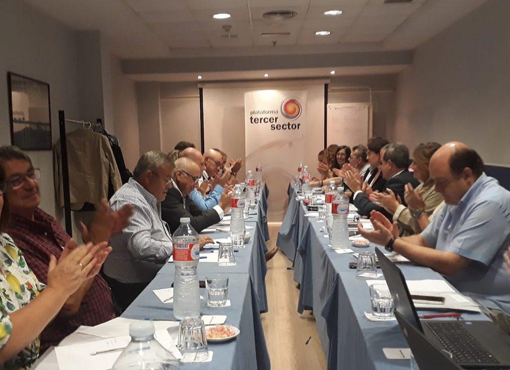 Constituido el Comité Territorial de la Plataforma del Tercer Sector para avanzar en cohesión y en materia social