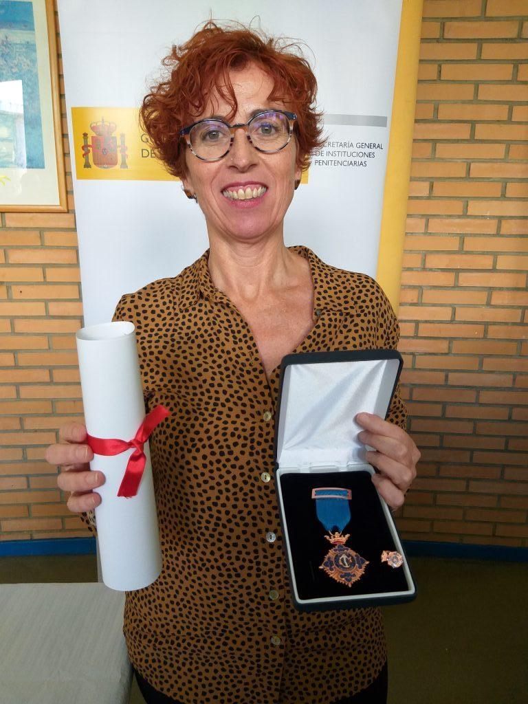 Pilar García Iriarte, Medalla de Plata al Mérito Social Penitenciario