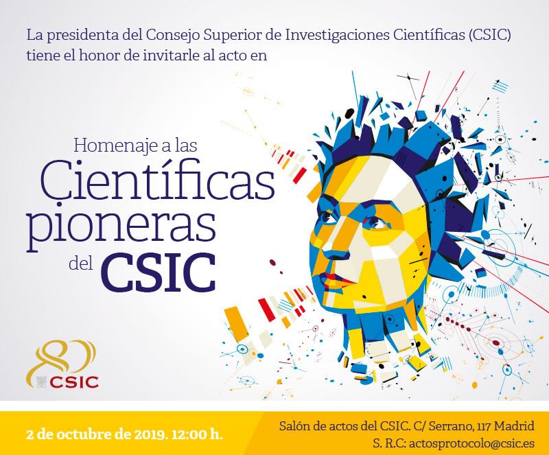 El CSIC rinde homenaje a sus científicas pioneras que marcaron la historia de la ciencia española