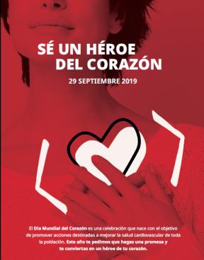 Sé un héroe del corazón