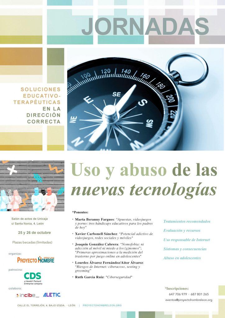 Proyecto Hombre Bierzo-León organiza las Jornadas 'Uso y abuso de las nuevas tecnologías'