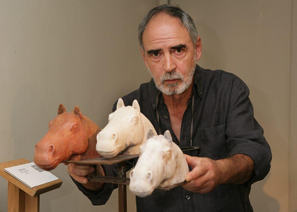 El Museo Tiflológico de la ONCE muestra 'Sueños y Realidades', esculturas de Antonio Madueño de Castro