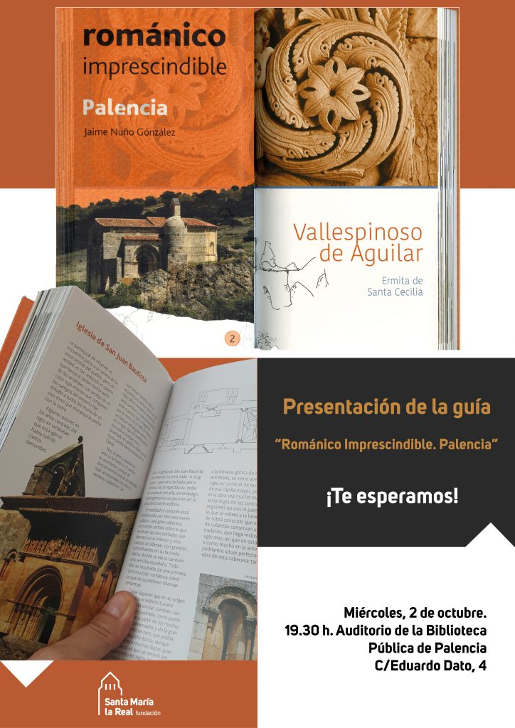 """La Biblioteca Pública de Palencia ha acogido la presentación de la guía del """"románico imprescindible"""" de la provincia"""