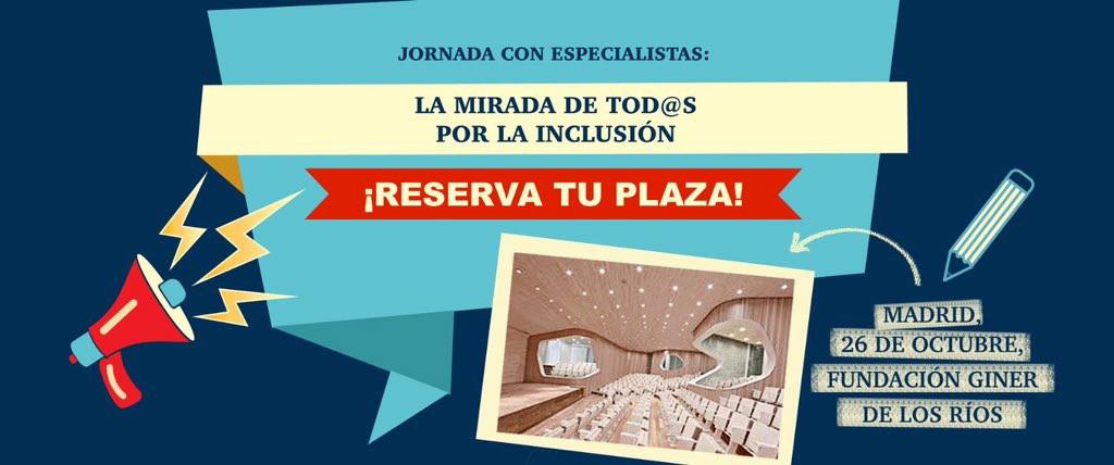 """La ONCE reúne en Madrid a 200 """"profes"""" para abanderar la inclusión"""