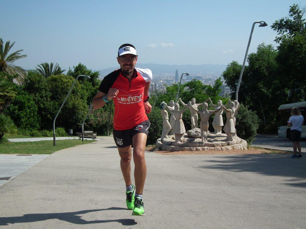 Un deportista con disCapacidad visual corre la III Vuelta Solidaria a España (1.900 kms a pie y bici en 35 días) para visibilizar las Enfermedades Raras