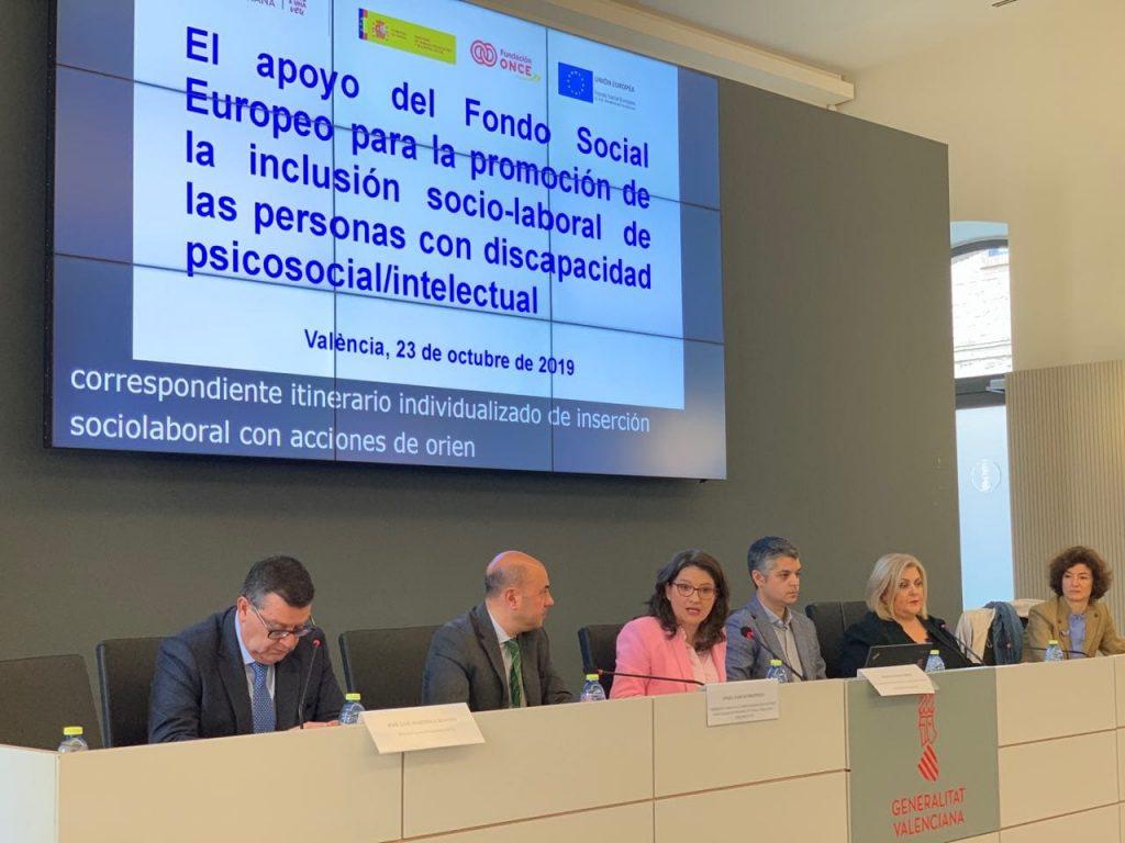 Fundación ONCE presenta el programa UniDiversidad como buena práctica en la gestión del Fondo Social Europeo
