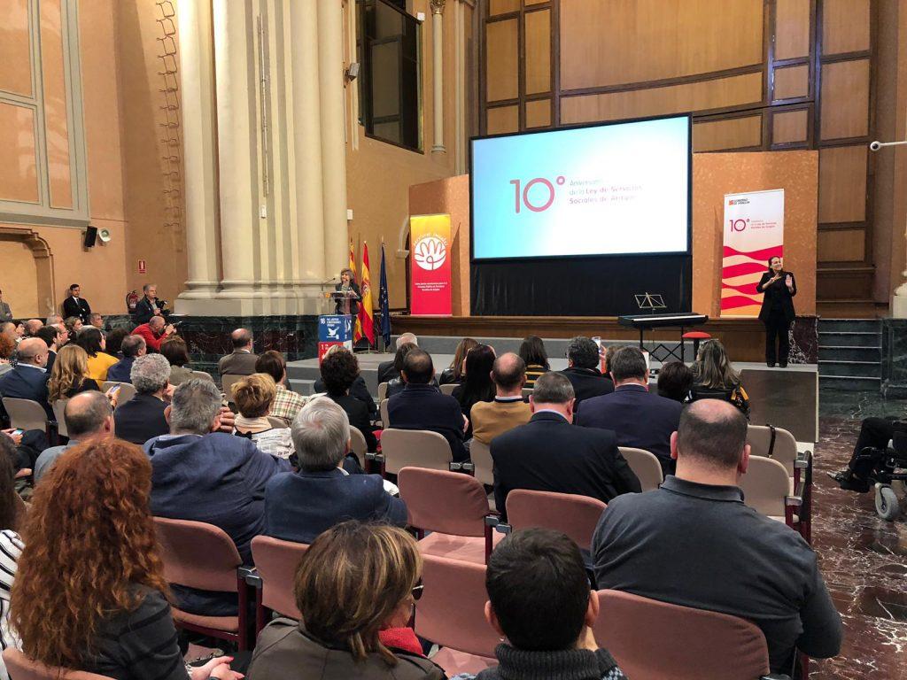 X Aniversario de la Ley de Servicios Sociales de Aragón