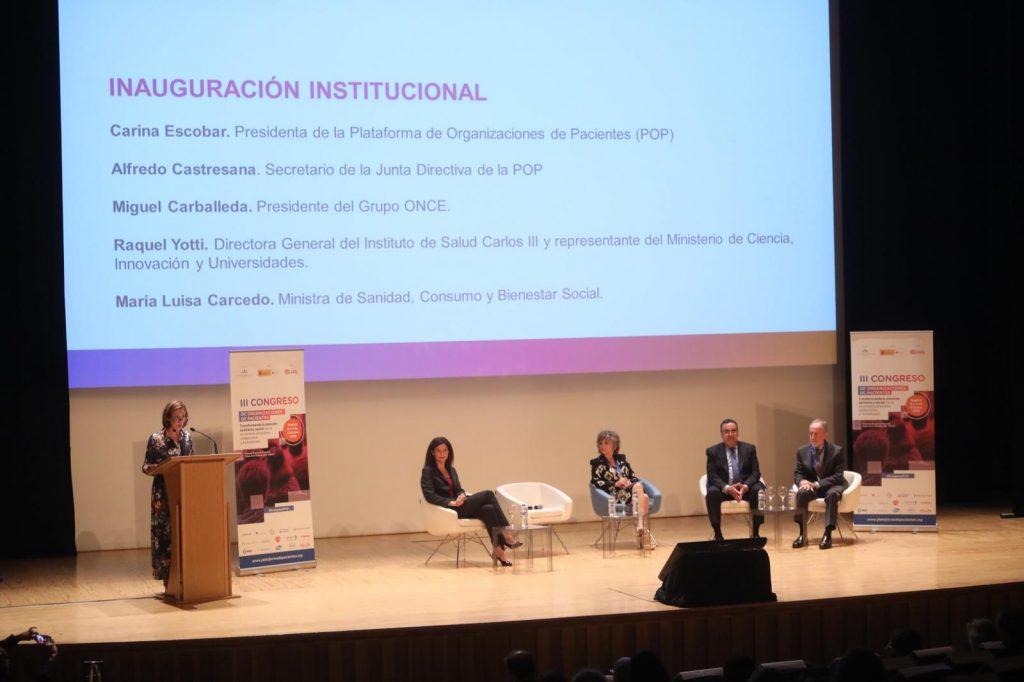 III Congreso de la Plataforma de Organizaciones de Pacientes
