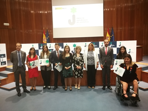 Premios Nacionales de Juventud 2019