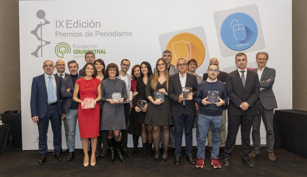 X Edición de los Premios de Periodismo de la Fundación Grünenthal