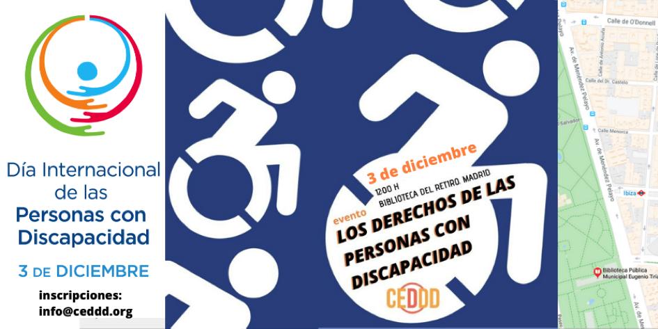 El CEDDD trabaja también por un futuro accesible en el Día Internacional de las personas con Discapacidad