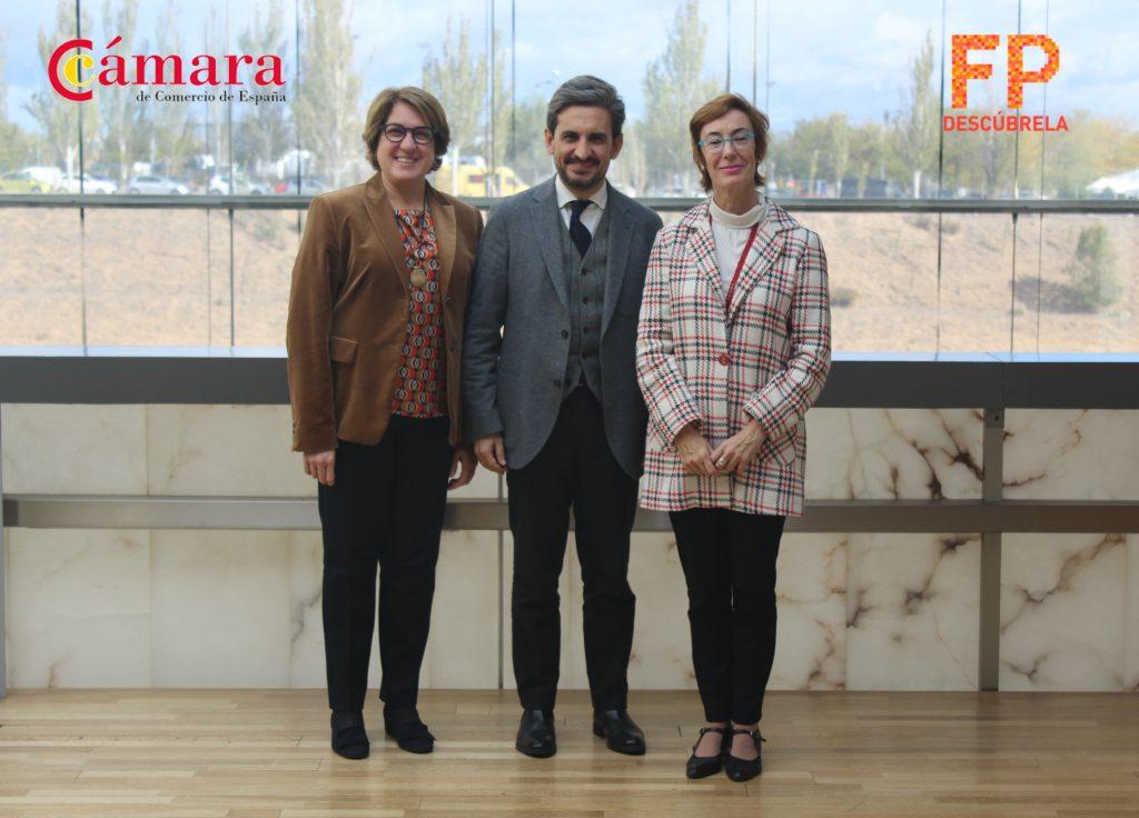 Fundación ATRESMEDIA, Fundación MAPFRE y la Cámara de España conectan a empresas y centros formativos para impulsar la FP