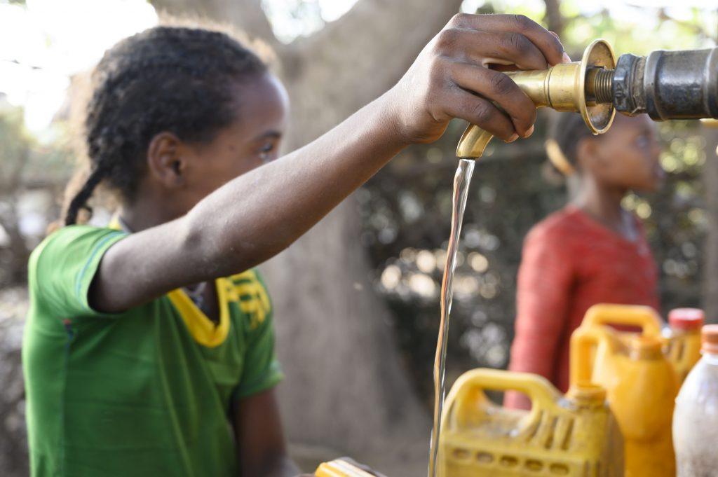 La tecnología posibilita el acceso a agua potable en zonas rurales de Etiopía