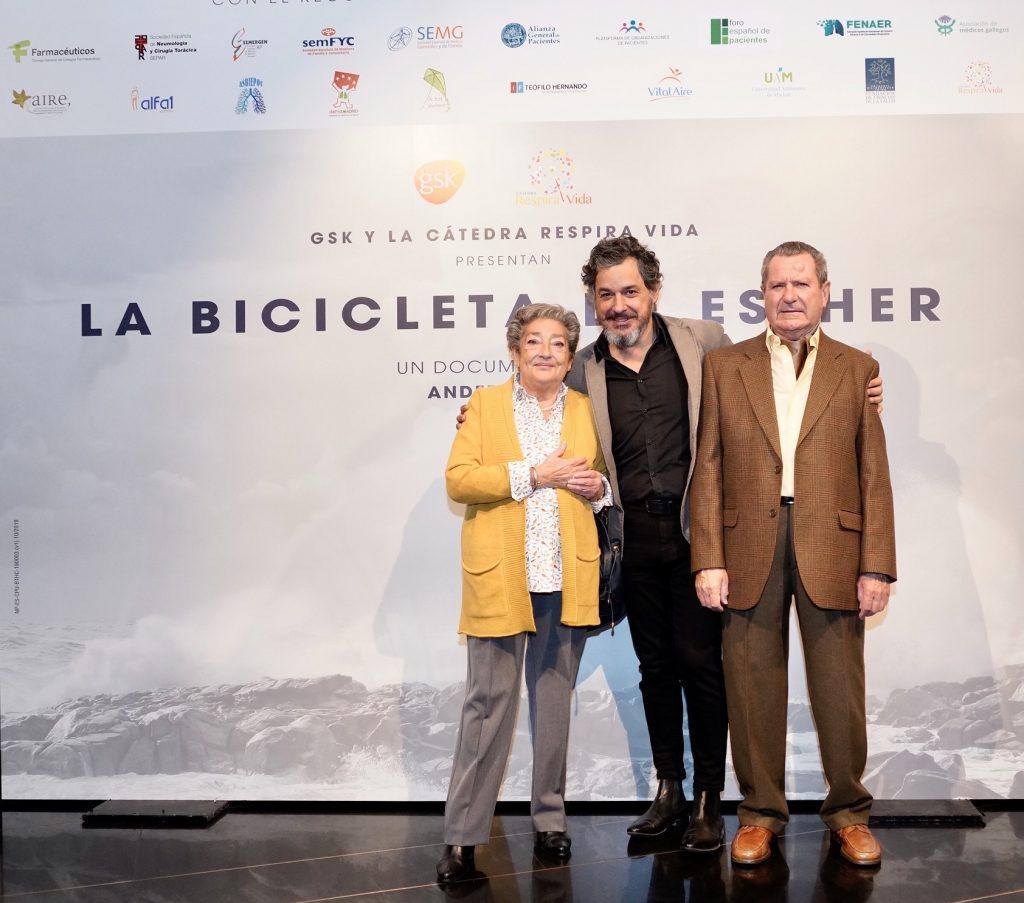 """GSK y la Cátedra RespiraVida estrenan el documental """"La bicicleta de Esther"""" con motivo del Día Mundial de la enfermedad pulmonar obstructiva crónica (epoc)"""