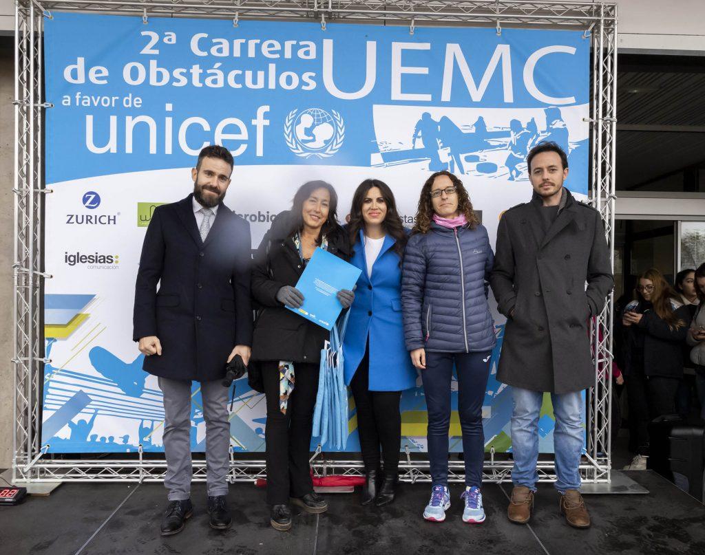"""La Universidad Europea Miguel de Cervantes se suma a """"Por mí y por todos mis compañeros"""" a favor de UNICEF en su II Carrera de Obstáculos"""