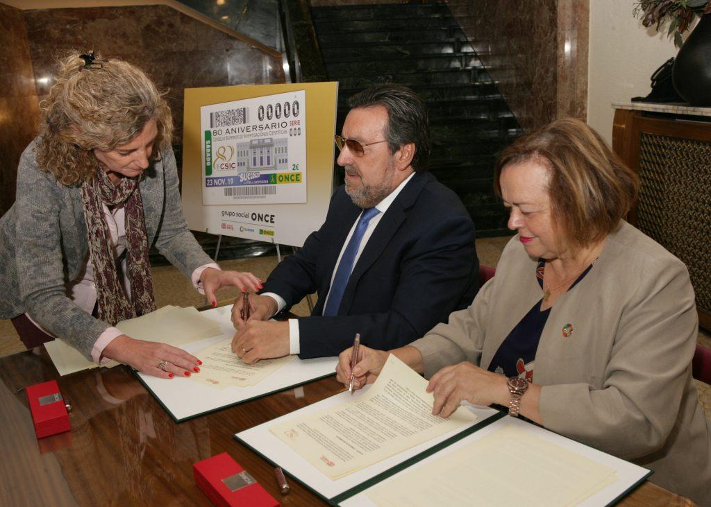 Fundación ONCE y el CSIC colaboran para acercar la ciencia a las personas con discapacidad