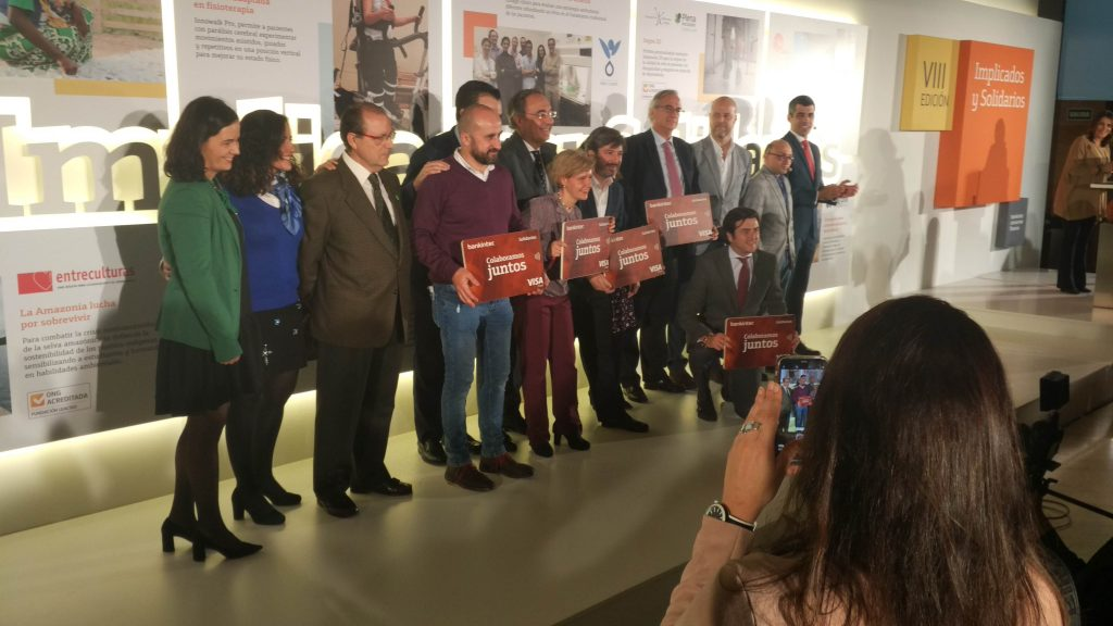 Bankinter premia a Aspanias Burgos por un proyecto de impresión en 3D