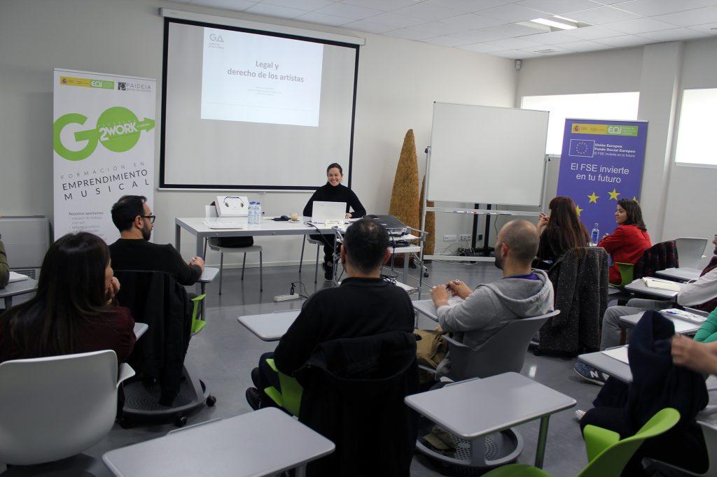 La Fundación Paideia y la Escuela de Organización Industrial impulsarán nuevas acciones formativas dirigidas a emprendedores  y emprendedoras musicales