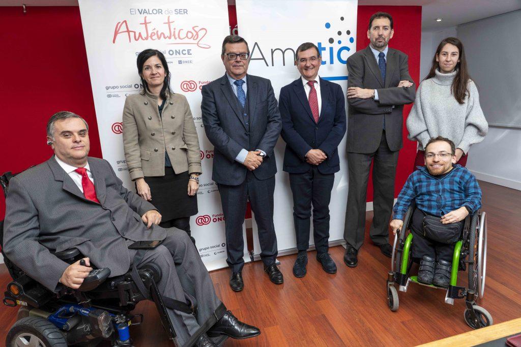 AMETIC y Fundación ONCE renuevan su acuerdo para impulsar las nuevas tecnologías al servicio de las personas con discapacidad
